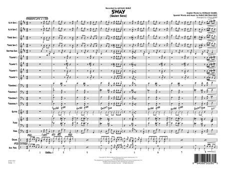 Sway (Quien Sera) - Conductor Score (Full Score)