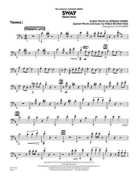 Sway (Quien Sera) - Trombone 1