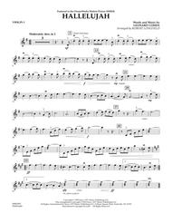 Download Hallelujah - Violin 1 Sheet Music By Leonard Cohen - Sheet