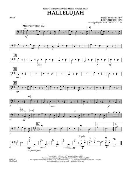 Hallelujah - Bass