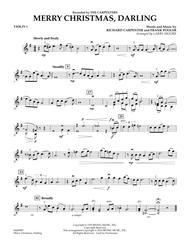 Merry Christmas, Darling - Violin 1