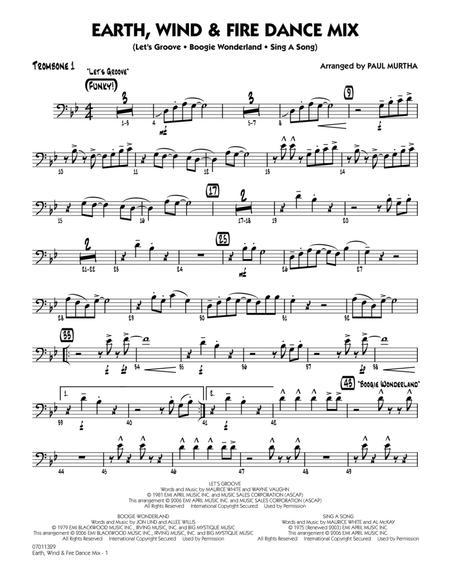 Earth, Wind & Fire Dance Mix - Trombone 1