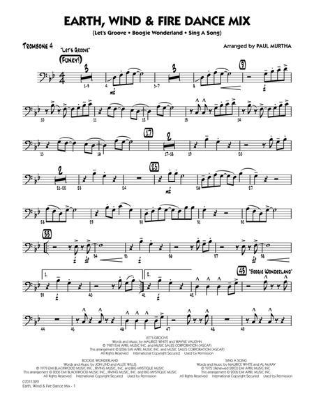 Earth, Wind & Fire Dance Mix - Trombone 4