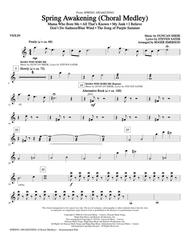 Spring Awakening (Choral Medley) - Violin