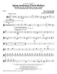 Spring Awakening (Choral Medley) - Viola