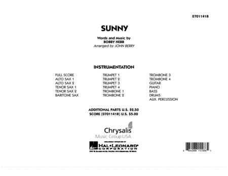 Sunny - Full Score