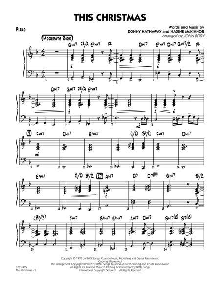 This Christmas - Piano