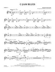 C-Jam Blues - Violin 1