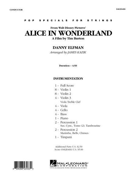 Alice In Wonderland - Full Score