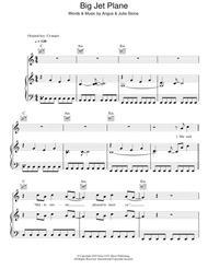 Big Jet Plane By Angus Julia Stone Julia Stone Digital Sheet Music For Piano Vocal Guitar Piano Accompaniment Download Print Hx 161219 Sheet Music Plus