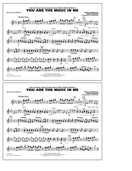 You Are the Music In Me (from High School Musical 2) - Bells/Xylophone