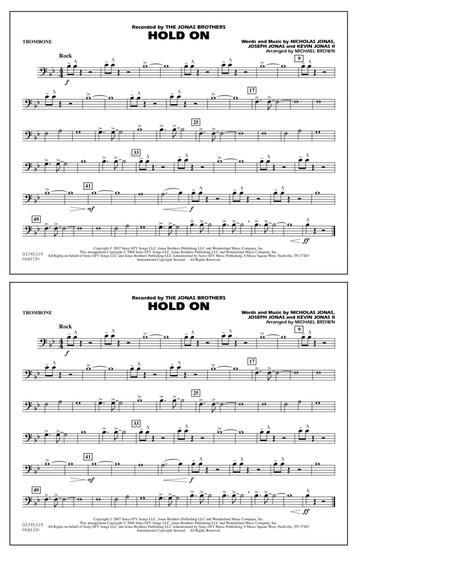 Hold On - Trombone