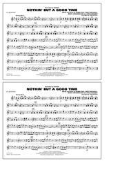 Nothin' But A Good Time - Eb Alto Sax