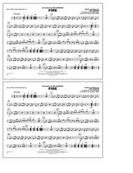 Fire - Multiple Bass Drums