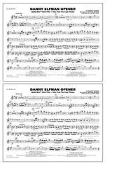 Danny Elfman Opener - Eb Alto Sax