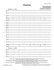 Glorious - Full Score