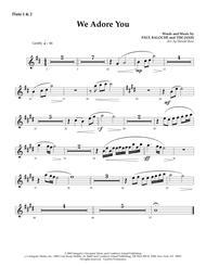 We Adore You - Flute 1 & 2