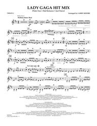 Lady GaGa Hit Mix - Violin 1