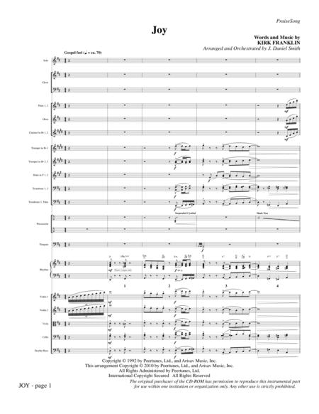 Joy - Full Score
