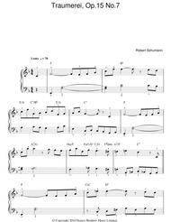 Traumerei Op. 15, No. 7