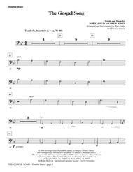 Download The Gospel Song - Double Bass Sheet Music By Drew Jones
