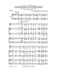 God Bless Us Everyone - Chorus
