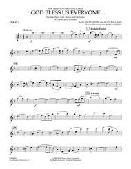 God Bless Us Everyone - Violin 1
