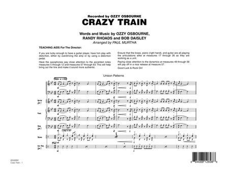 Crazy Train - Full Score
