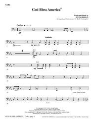 God Bless America - Cello