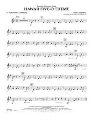 Hawaii Five-O Theme - Eb Baritone Saxophone