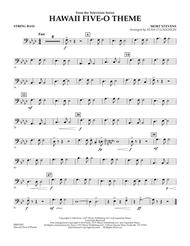 Hawaii Five-O Theme - String Bass