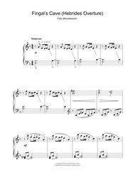 The Hebrides Overture (Fingal's Cave)