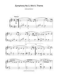 Symphony No. 3, Andante