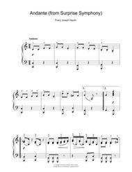 Symphony No. 94 Surprise (2nd Movement)