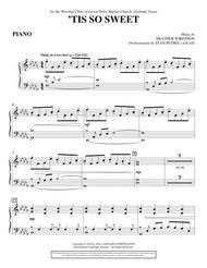 'Tis So Sweet - Piano