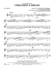I Dreamed A Dream (from Les Miserables) - Bb Clarinet 2
