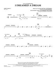 I Dreamed A Dream (from Les Miserables) - Percussion 2