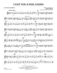 I Got You (I Feel Good) - Bb Tenor Saxophone