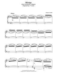 Winter (third movement: Allegro)