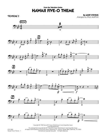 Hawaii Five-O Theme - Trombone 2
