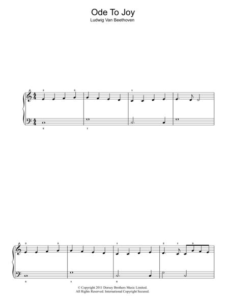 Ode To Joy from Symphony No. 9, Fourth Movement