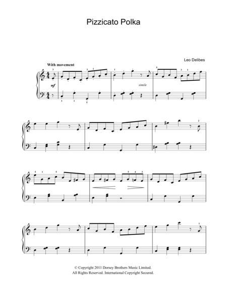 Pizzicato Polka (from Sylvia)