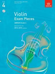 Selected Violin Exam Pieces Grade 4 2012-15