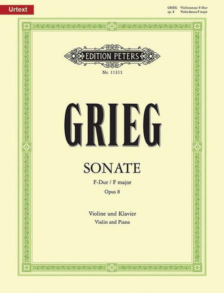 Sonata No. 1 in F Major Op. 8