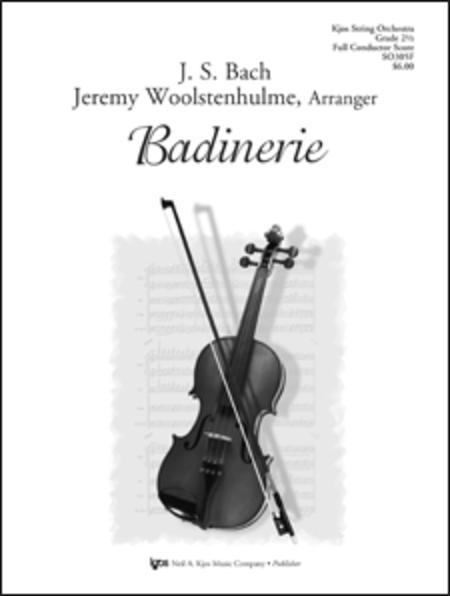 Badinerie - Score