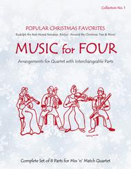 Music for Four, Collection No. 1 - Popular Christmas Favorites