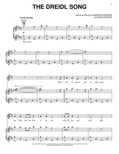 The Dreidl Song