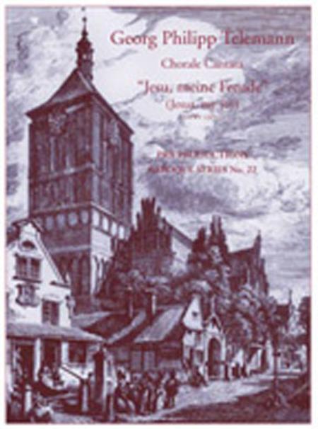 Cantata, 'Jesu, meine Freude' (part set)