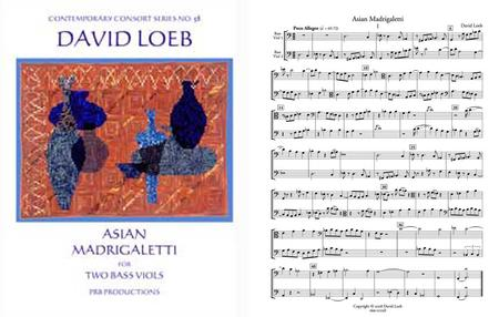 Asian Madrigaletti (2 playing scores)