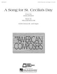 A Song for St. Cecilia's Day